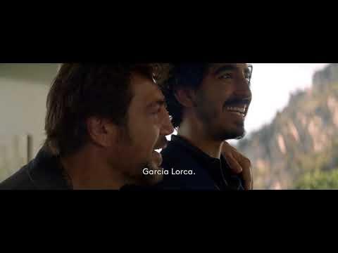 Willie Shakespeare Javier Bardem & Dev Patel for Ermenegildo Zegna