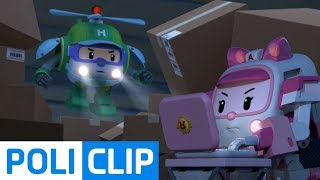 We have to find it before it's too late!   Robocar Poli Rescue Clips