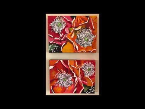 Original Acrylic Paintings by Trudy Oberg