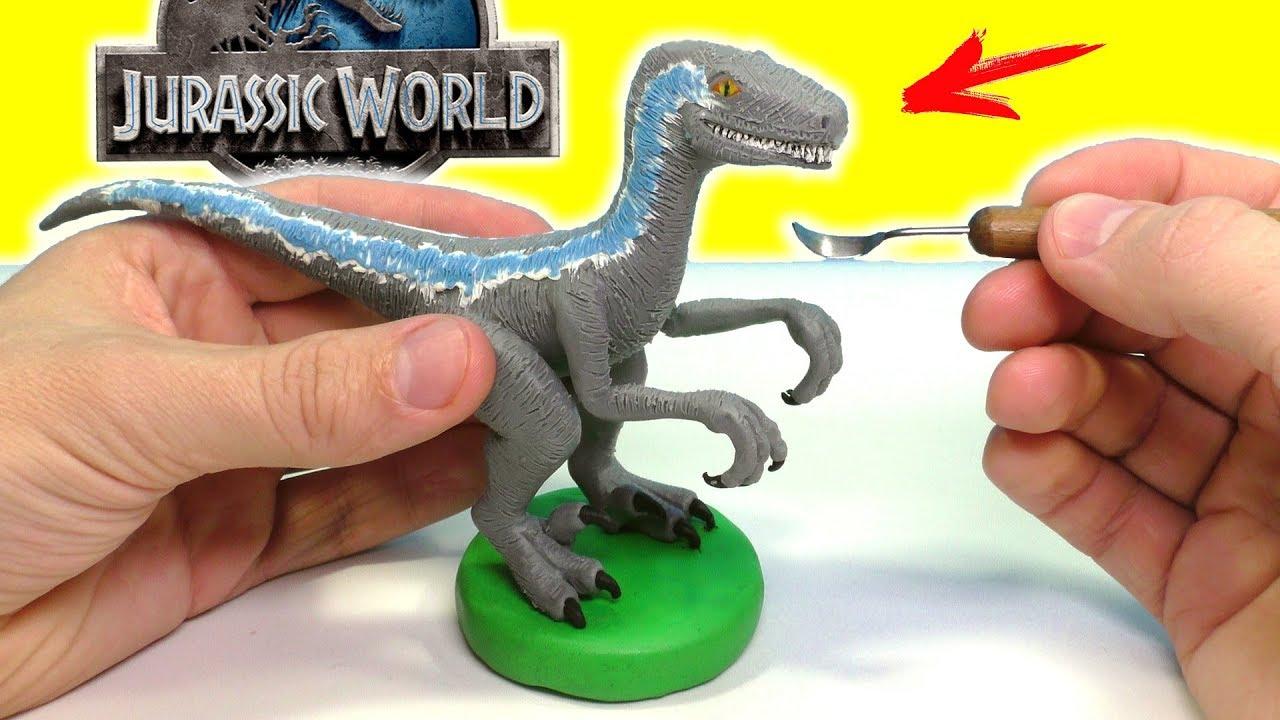 ЛЕПИМ ДИНОЗАВРА БЛЮ из фильма МИР ЮРСКОГО ПЕРИОДА 2 | Jurassic World 2