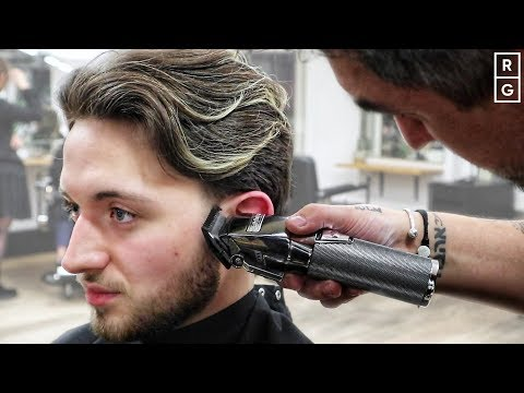 Men's Medium Length Haircut Tutorial | How To Style Medium Length Hair Men