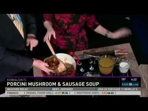 Healthy Soup With Beans And Greens (1/29/13 On KARE 11)