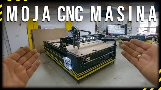 KAKO SAM NAPRAVIO CNC | HOW I MADE A CNC MACHINE