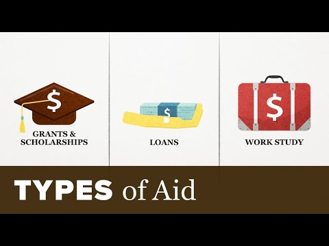 Types of Financial Aid: Grants? Scholarships? Student Employment? Loans?