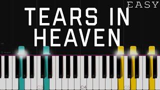 Tears In Heaven - Eric Clapton   EASY Piano Tutorial   Arranged By Dan Coates