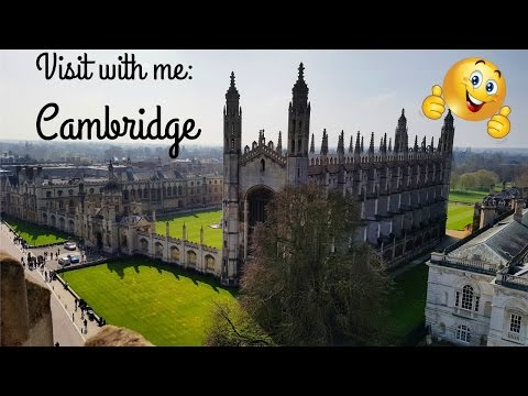 Visit with me: Cambridge