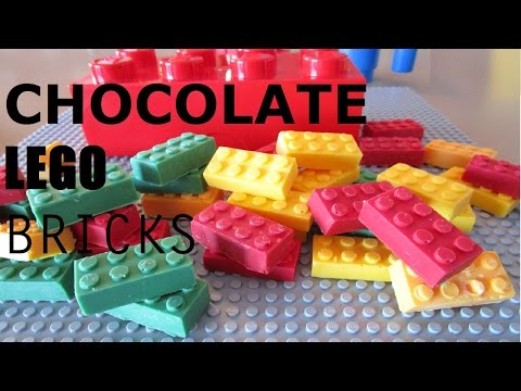 How To Make Chocolate Lego Candy & Attended The New York Toy Fair 2016