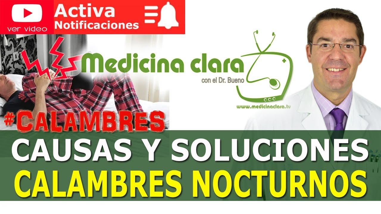 Download ⚡ CALAMBRES en las PIERNAS  por la NOCHE. 5 POSIBLES CAUSAS ¿Cómo evitarlos? | Medicina Clara