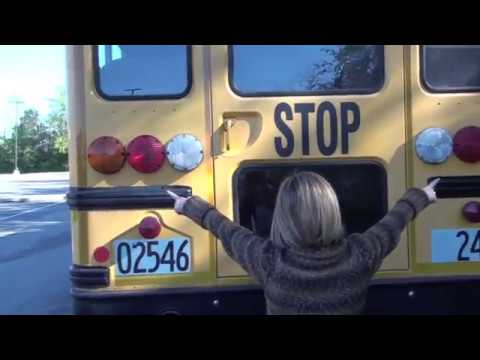 Class B CDL School Bus Pre-trip demonstration 2014