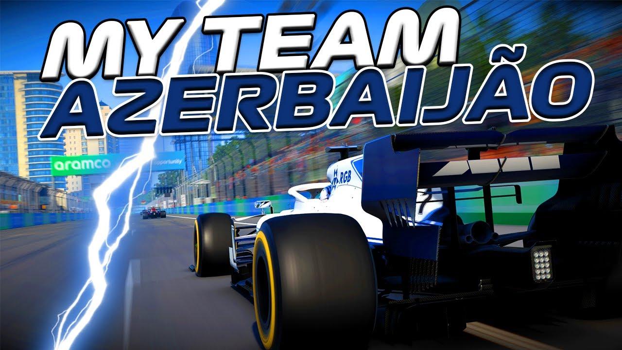 F1 2020 - MY TEAM - GP DO AZERBAIJÃO - A URUCA SAIU! ALELUIA! - EP 75