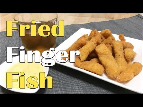 Fried Finger Fish With Tartar Sauce | Cook With Sumair