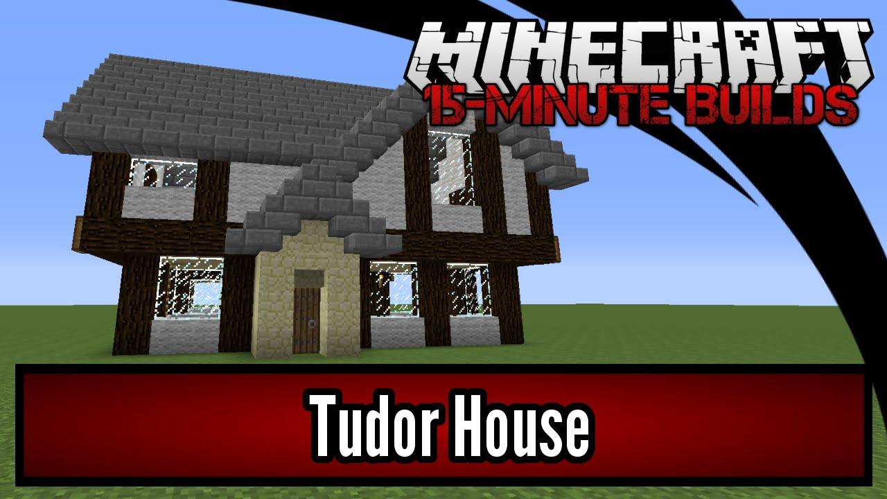 minecraft 15-minute builds - tudor house