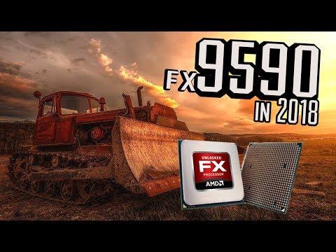 AMD FX 9590 @ 5.1 Ghz in 2018...