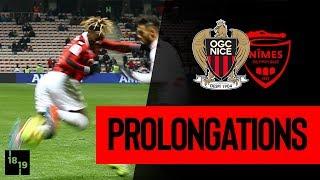 Nice 2-0 Nîmes : prolongations