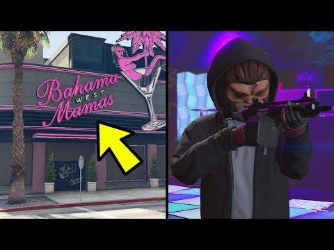 GTA 5 Online Hidden Bahama Mamas Nightclub Features & Heist Mission! (GTA 5 Cut Content)