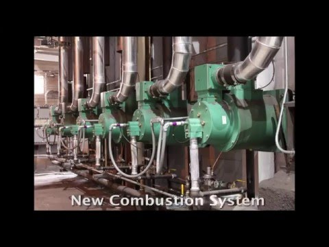 Gas Burner Combustion System Industrial for Process Heating