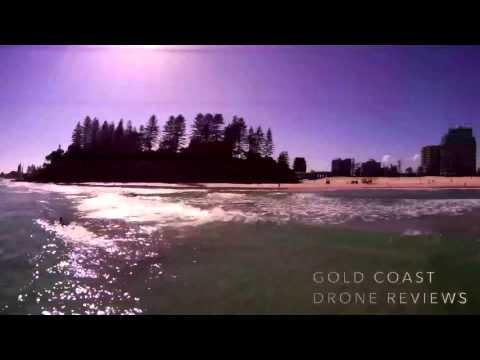 Gold Coast Drones Upair Chase Aerial Photography Beach Flying ** REVISED **