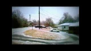 Ice storm Nashville tn. 2015