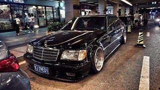 Идеальные Mercedes W140 и BMW E38 в Китае. Два года работы! 2 млн рублей.