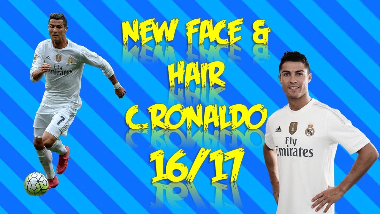 New Face Hair CRonaldo Pes YouTube - New face hair cristiano ronaldo pes 2013
