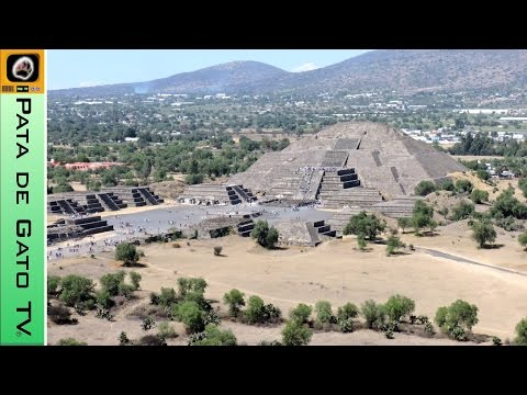Guía Teotihuacán / Teotihuacan guide - Viajando con Pata de Gato TV