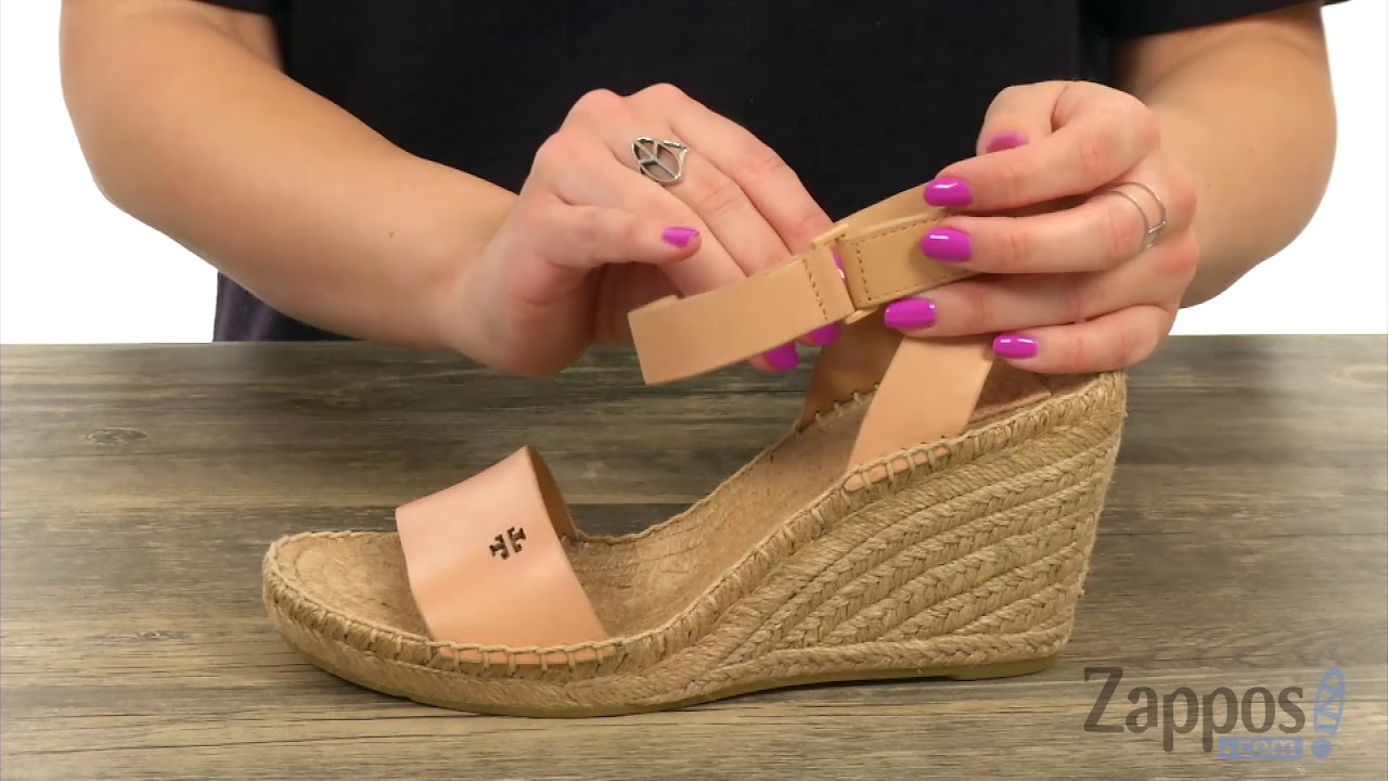 0462d92b649 Tory Burch Bima 2 90mm Wedge Espadrille SKU  9076438 - YouTube