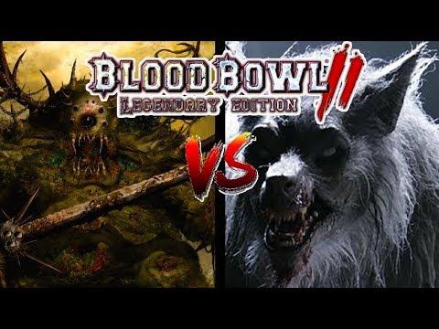 Nurgle (Turin) vs Necromantic (Gojira Gaming) | Blood Bowl 2 - Wild Hogs Ranked League Week 7