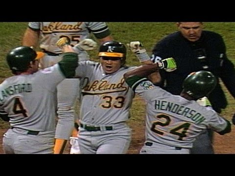 1989 WS Gm3: The A's launch five homers in one game