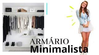 Meu guarda-roupa MINIMALISTA | looks MINIMALISTA