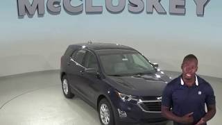 190540  New 2019 Chevrolet Equinox LS FWD 4D Sport Utility Blue Test Drive, Review, For Sale -