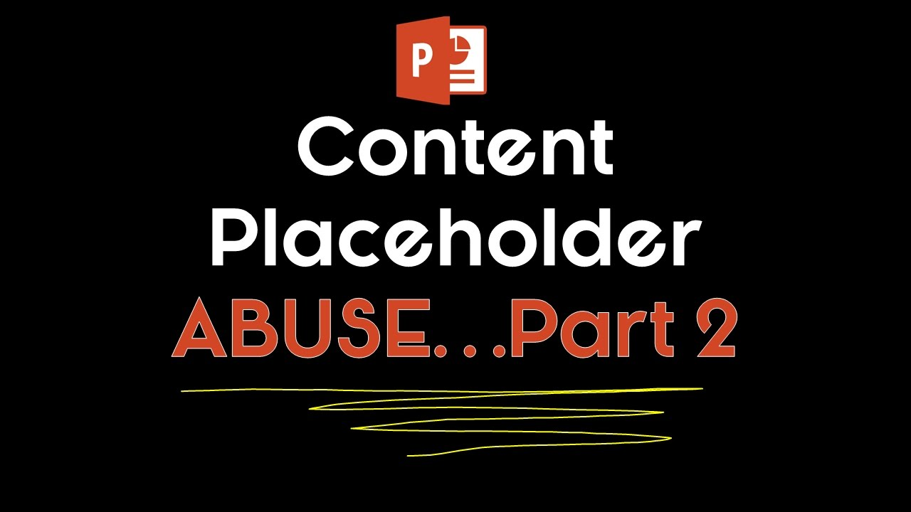 Powerpoint placeholder abuse the dark side of your ppt template powerpoint placeholder abuse the dark side of your ppt template toneelgroepblik Gallery