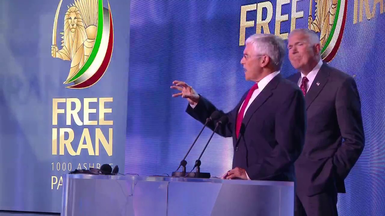 Speech by G.George Casey in the Free Iran Gathering July  2017 in Paris