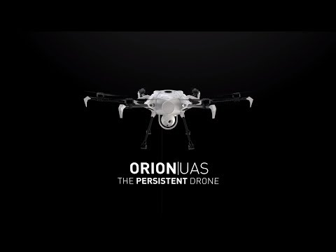 Orion UAS - Persistent Tethered Drone For Surveillance & Communications