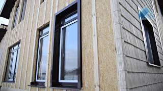 Отделка домов из СИП панелей: видео-инструкция по монтажу, внешняя обшивка фасада, фото