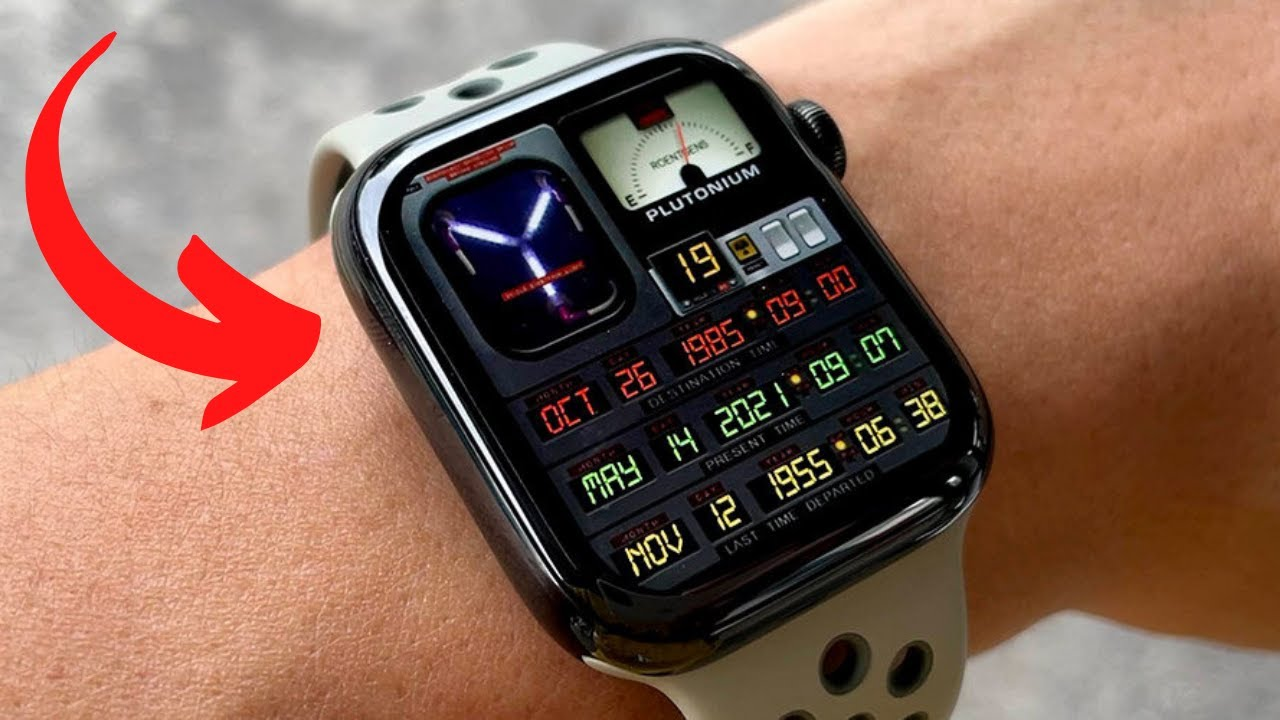 BACK TO THE FUTURE APPLE WATCH APP   DOWNLOAD INSTRUCTIONS   GREAT SCOTT -  YouTube