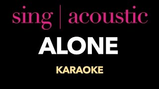 Alan Walker - Alone (Karaoke/ Instrumental)