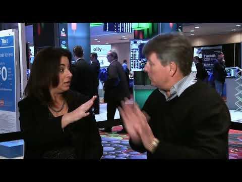 Stefanie interviewing John Person