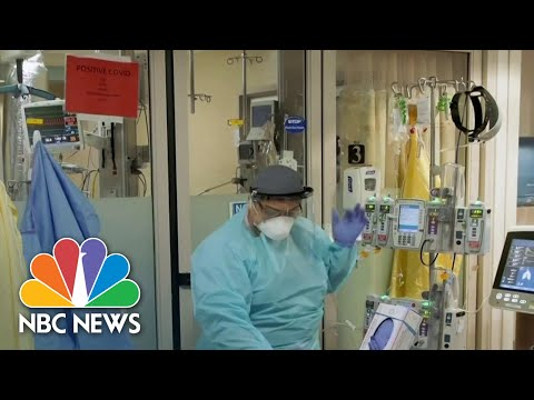 Coronavirus First Responders In New Hot Spots Facing Hospitals On The Brink | NBC Nightly News