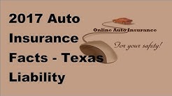 2017 Auto Insurance Facts  | Texas Liability Insurance Requirements   Whats New