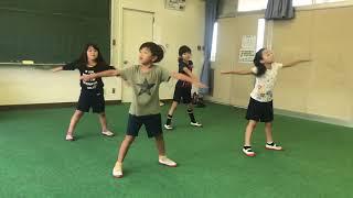 前谷小学校1年1組 ラジオ体操第一