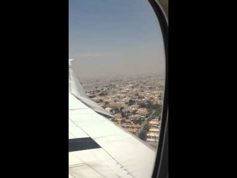 28 April 2014 Fly over Dubai by Emirates Airline