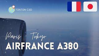 Vol Paris-tokyo A380 Flight Paris-tokyo