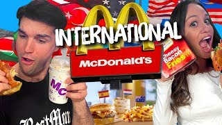 We Ate Everything on McDonald's New International Menu! (Cheat Day)