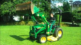 Used John Deere 4100 - PowercutUK