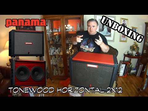 Panama Guitars - Cabinet Unboxing (new cab day!)