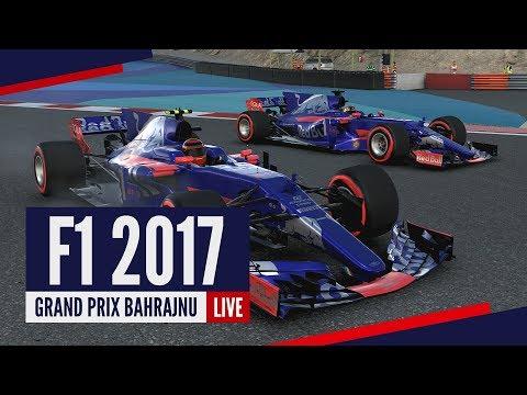 [RE-LIVE] F1 2017 - Kariera w Toro Rosso! Grand Prix Bahrajnu!