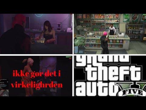 GTA 5 ONLINE ER PÅ STRIPPERKLUB & MERE