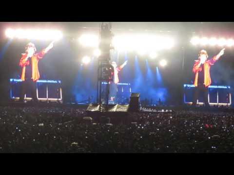 """""""The Wall"""" Joke - The Rolling Stones - América Latina Olé México Foro Sol Marzo 17 2016"""