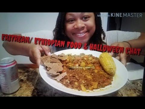 #먹방 #MUKBANG #ERITREAN/ #ETHIOPIAN #FOOD ( PLANS FOR #OCTOBER ~31 DAYS OF #HORROR ) #HALLOWEEN