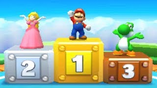 Mario Party: Star Rush - All Racing Minigames
